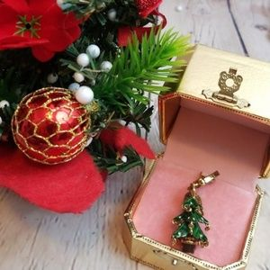 NIB 2008 Juicy Couture Rare Christmas Tree Charm